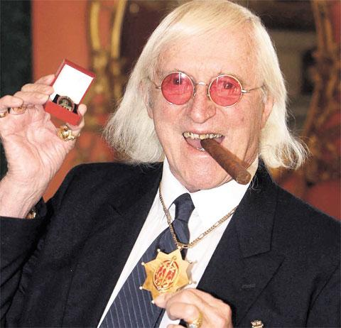 Jimmy Savile, Quelle: AP