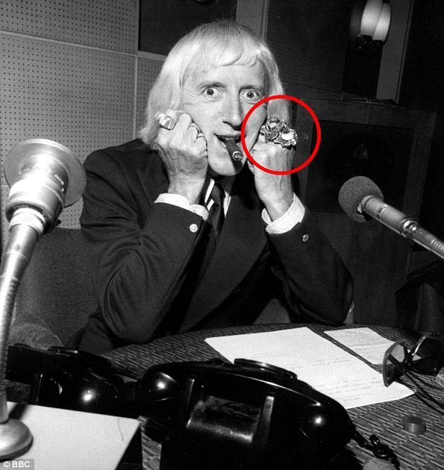 Jimmy Savile, Quelle: BBC, via Dailymail