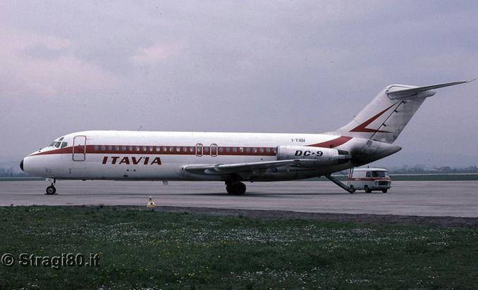 Die DC-9 I-TIGI (Quelle: www.stragi80.it)